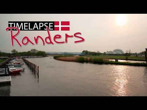 Evening Sun (TIME LAPSE) - Randers, Denmark