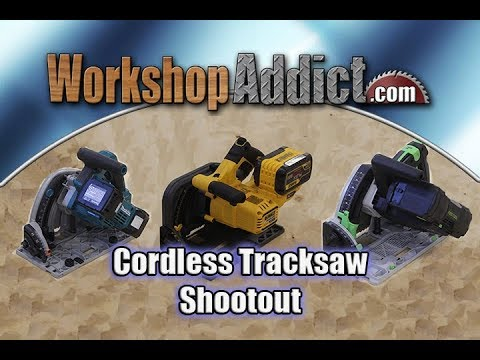 Cordless Tracksaw Comparison | Makita 36v vs Dewalt 60v vs Festool 36v