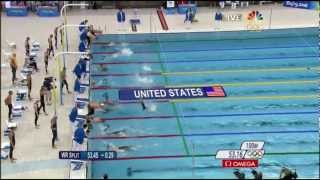 Michael Phelps' 8th Gold - 2008 Beijing Olympics Men's 4x100m Medley Relay