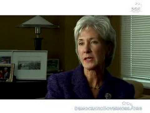 Governor Kathleen Sebelius on the DGA