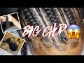 Big Chop + Feed In Braids| Africana Braid