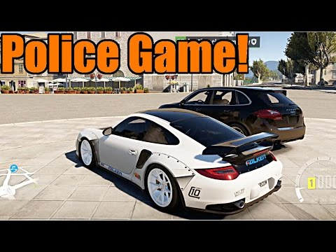 Forza Horizon 2   Undercover Cop Chase! 911 GT2 vs Cayenne Turbo Cop