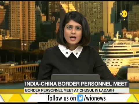 India-China border personnel meet in Ladakh: Focused on bringing down tension along borders