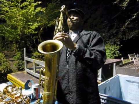 Selmer Tenor Sax 1956, played by James Carter @ Jazz Middelheim 2010