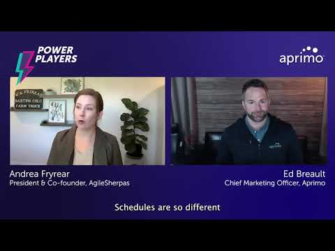 Agile enables global work | Andrea Fryrear – Aprimo Power Player