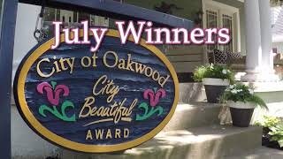 Oakwood City Beautiful Awards 2019