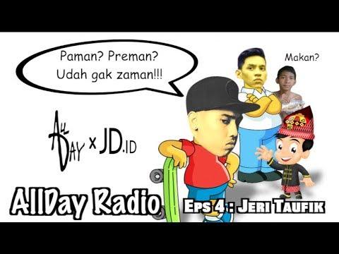 Jeri Taufik freestyle tentang paman | AllDay Radio