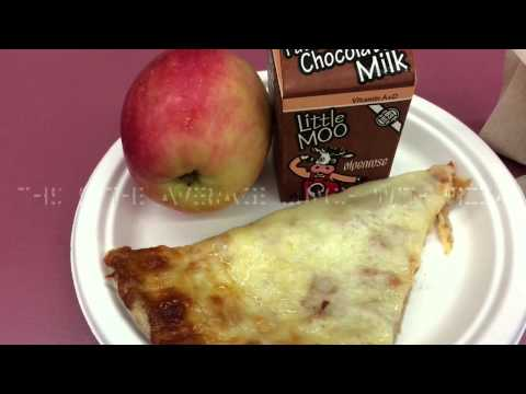 School lunches: Hosford middle school 2014