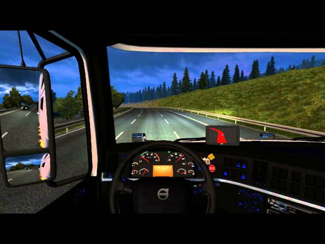 Euro truck 2 - Mod Volvo e Mod Carga TOP - GTX660 Gameplays PC