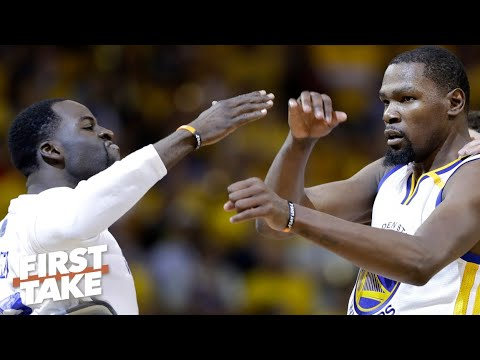 Draymond didn't expect KD to feel hurt by their fight last season - Stephen A. | First Take
