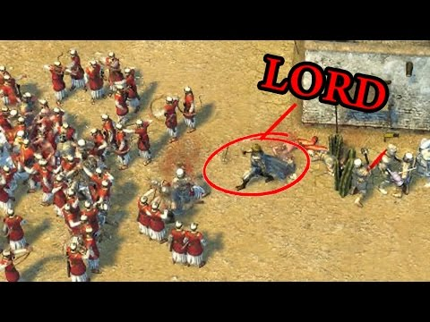 Stronghold Crusader 2 Multiplayer W/Commentary - 2 Vs 2 - Volcano (New Map)
