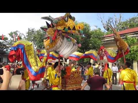 Lễ rước bằng di tích Đền Luỹ Tiến - Cao Viên - Thanh Oai - Hà Nội