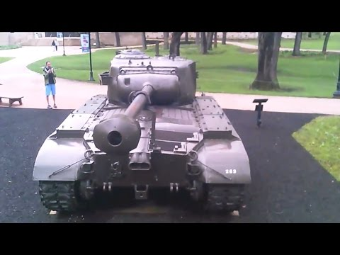 Cantigny Tanks - Drone Arial View