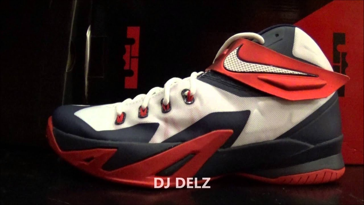 4deab1781e43 Nike Basketball Team USA Nike Lebron Soldier 8 Sneaker Review With Dj Delz