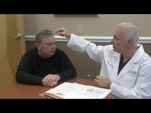 Hair Transplant Consultation with Dr  Michael Voires of Carolina Hair Surgery   Charlotte, NC