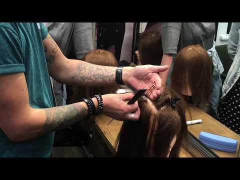 Наращивание волос. Обучение.