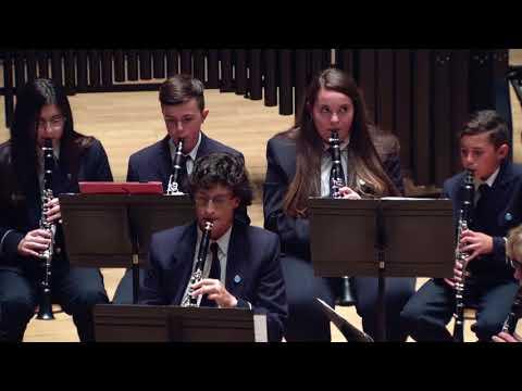 Symphony number 4 for winds and percussion U.M. SAN ROQUE DE VILLARGORDO DEL CABRIEL