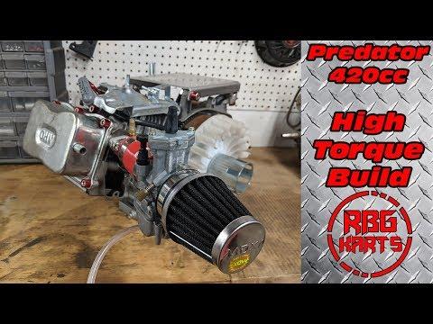 Predator 420cc High Torque Engine Build