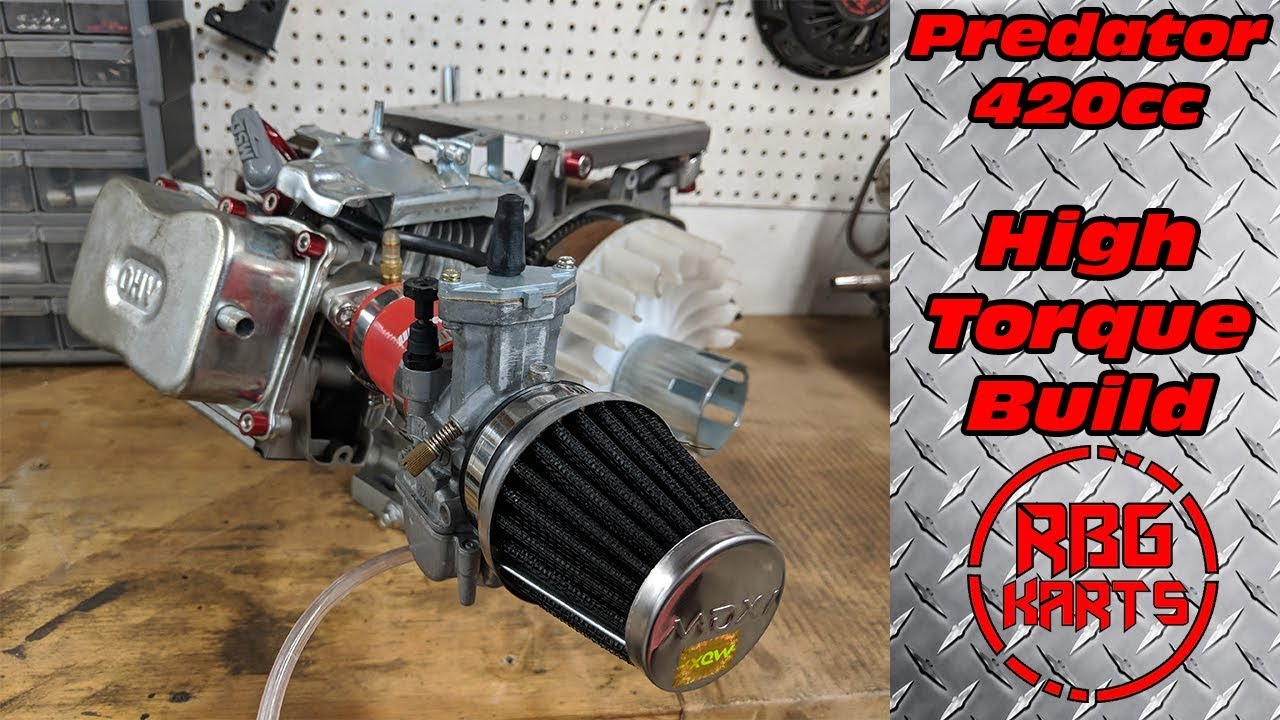Predator 420cc High Torque Engine Build