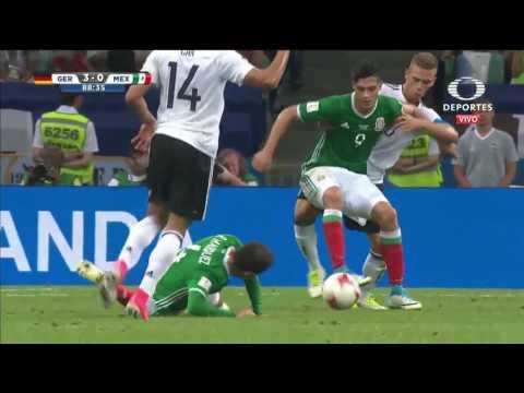 Gol de Marco Fabián  Alemania 3   1 México   Copa Confederaciones 2017