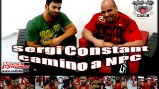 Sergi Constance entrevista para Muscular Development Latino - España - 2013