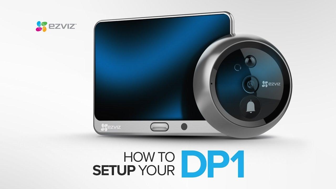 ezviz dp1  EZVIZ | How to connect your door to Wi-Fi with EZVIZ DP1 - YouTube