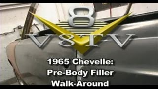 1965 Chevelle Pre Body Filler Walk-Around - V8TV-Video