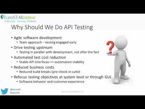 API Testing: The heart of functional testing - EuroSTAR - Bj Rollison