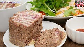 PATE GAN VIỆT NAM - Cách làm Pa tê Gan Gà hấp đúng hương vị Việt - Món ăn ngon VN by Vanh Khuyen