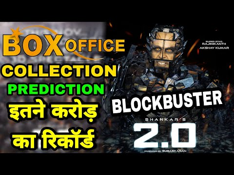 Robot 2.0 Boxoffice Collection predictions Akshay kymar, Rajnikant Shankar, 2.0 Worldwide Collection