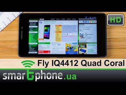 Fly IQ4412 Quad Coral - Обзор смартфона толщиной менее 7 мм