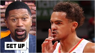 Jalen Rose reacts to Trae Young calling game: 'There's still time on the clock!' | Get Up
