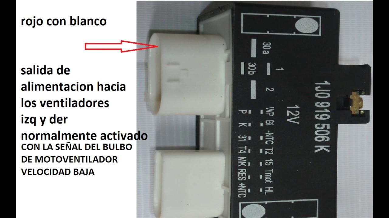 VENTILADORES JETTA 2.0 DIAGRAMA Y SOLUCION A FALLA - YouTube