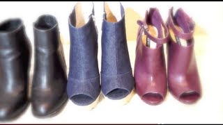 Fall Winter Boots Fashion Collection Shopping Tips and Inspiration Thumbnail