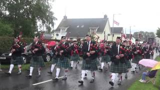 Cranny Pipe Band @ 12th of July 2015