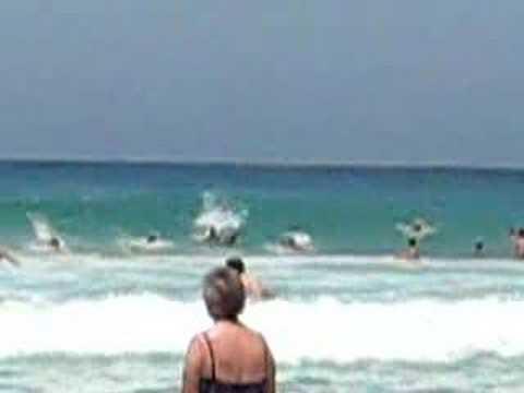 Strandliv Bondi Beach