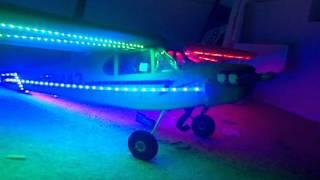 Hobby king RC plane light system for night flyer.