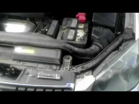 2005 Nissan altima headlight replacement - YouTube
