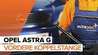 Wie OPEL ASTRA G Hatchback (F48_, F08_) Pendelstütze auswechseln - Tutorial