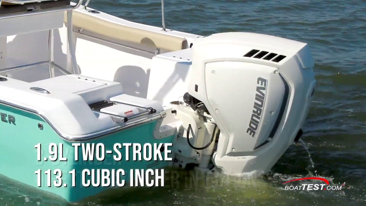 Evinrude E-TEC G2 150 HP (2019-) Test Video - By BoatTEST com