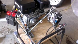 vuclip Home made emergency inverter generator