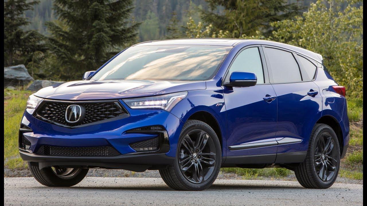 2019 acura rdx a-spec design  interior and drive