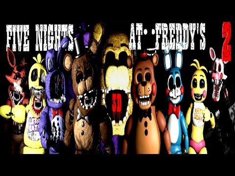 Five Unreal Nights at Freddy's 2 3D [EXTRAS]