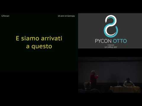 Image from Genropy: 10 anni di sviluppo di un framework italiano