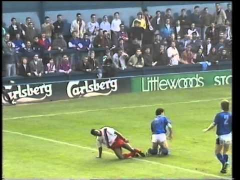 Everton 4 C Palace 0 - 17 March 1990