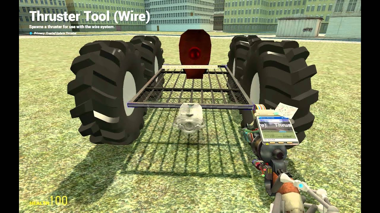Gmod 13 How to make a wire car with turrets