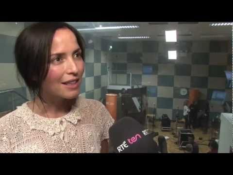 Andrea Corr - Interview 2 (RTE TEN News - 25 May 2011)