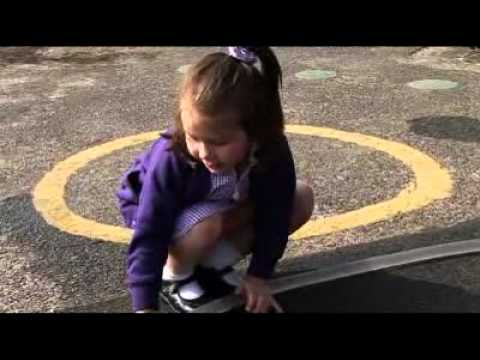 Early Years Foundation Stage: Children play firefighters