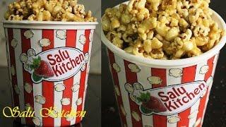 How To Make Caramel Popcorn  Making Popcorn in a Pan