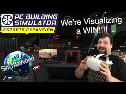 Computer Overheats but the CPU Cooler is Running??? - PC Building Simulator Esports Expansion Ep. 39 |